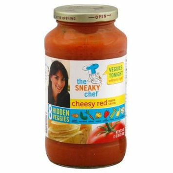 Sneaky Chef Pasta Sauce Cheesy Red Case of 12 24 oz.