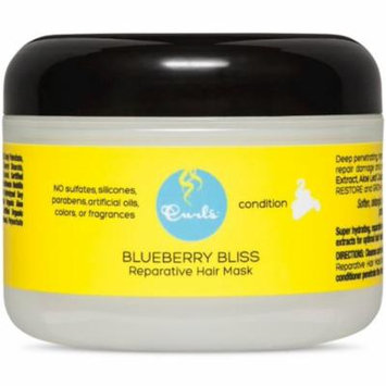 3 Pack - Curls Blueberry Bliss Reperative Hair Mask 8 oz
