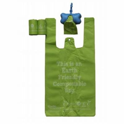 100 Percent Compostable Recyclable And Ecological Pet Waste Bags- Green And Pink