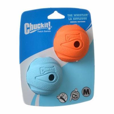 Chuckit The Whistler Chuck-It Ball Medium Ball - 2.25 Diameter (2 Pack) - Pack of 4