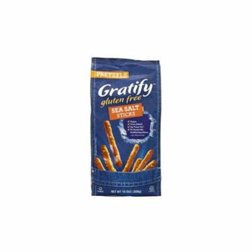 Gratify Gluten-Free Sea Salt Pretzel Sticks, 10.5 oz, 6 Pack