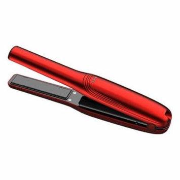 Rechargable Ceramic Flat Iron - Red