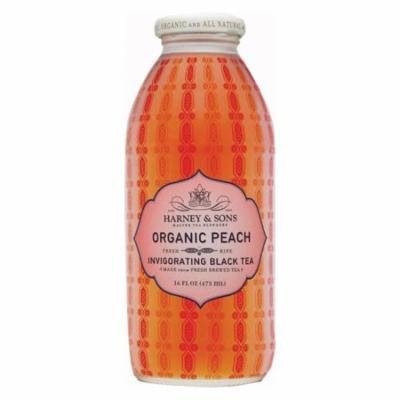 Harney and Sons Harney and Sons Organic Peach Tea Iced Tea Case of 12 16 Fl oz.