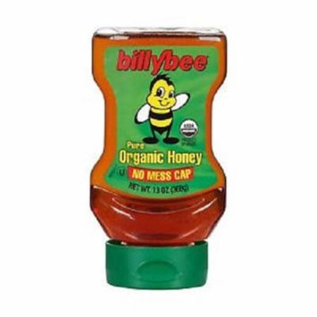 Billy Bee Liquid Honey Upside Down Squeeze Case of 6 13 oz.