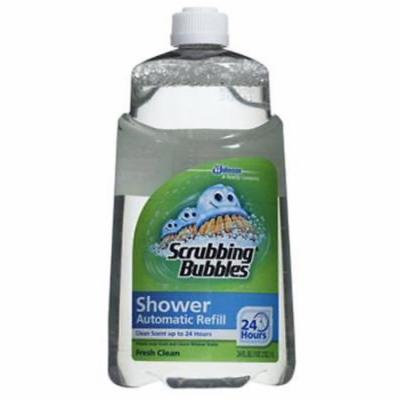 NEW 2PK 34 OZ Scrubbing Bubbles Automatic Shower Cleaner Refill Prevents Soap