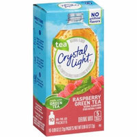 Crystal Light On-The-Go Raspberry Green Tea Drink Mix Box, 10 - 0.96 oz (Pack of 12)