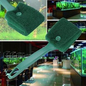 Womail Practical Aquarium Plant Algae Cleaner Glass Fish Tank Clean Cleaning Brush