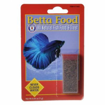 SF Bay Brands Freeze Dried Blood Worms .03 oz - Pack of 4