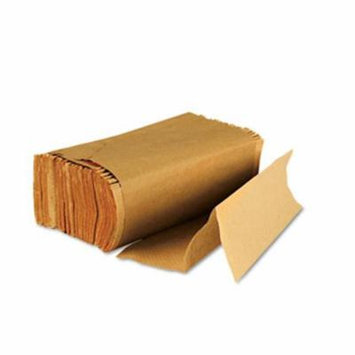 Multifold Paper Towels-Natural Brown- 250 Towels/Pack- 16 Packs/Carton