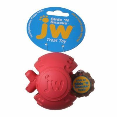 JW Pet Slide 'n Snacks Ball Treat Toy 1 Pack - 3.5