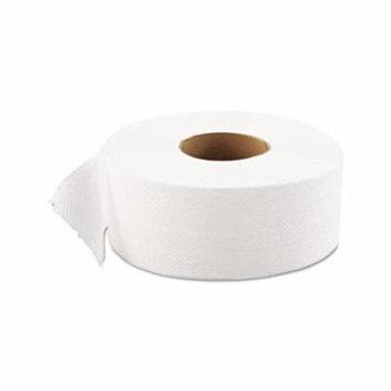 Jrt Jumbo Bath Tissue, 1Ply, White, 9 Dia, 12 Rollscarton