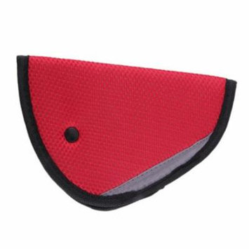 Car Seatbelt Pillow Belt Covers With Adjust Car Safety Cover Strap For Children Baby Adult- Red