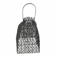 Highland Dunes Delron Style Rattan Woven Cloche Decorative Bird Cage