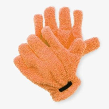 Top-Quality Microfiber Quick Hair Drying Gloves Hair Drying Towel -Orange
