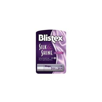 Blistex Silk & Shine Lip Balm (Pack of 2)