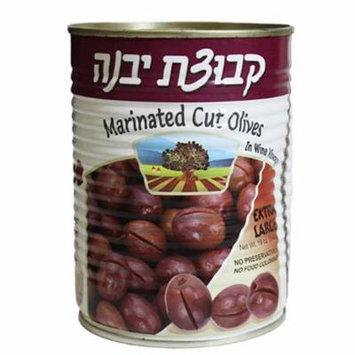 Kvuzat Yavne Slice Marinated Olives In Wine Vinegar 19 Oz. Pk Of 3.