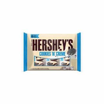 HERSHEY'S COOKIES 'N' CREME 6-Pack, 9.3 oz, (Pack of 2)