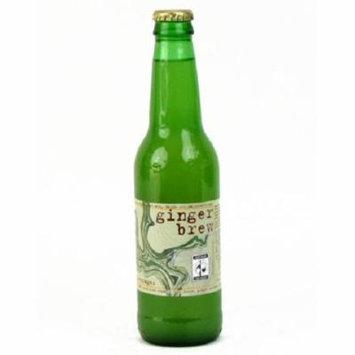 Maine Root Ginger Brew Soda Case of 6 12 Fl oz.