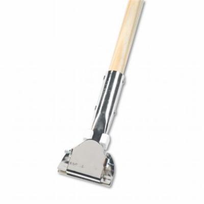 Clip-On Dust Mop Handle, Swivel Head, 1 Dia. x 60 L in.