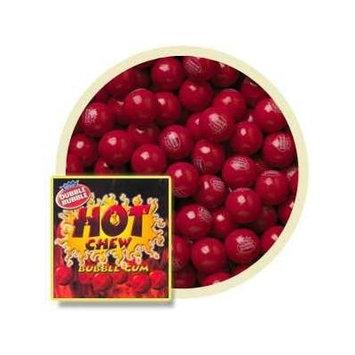 Hot Chew Cinnamon Bubble Gum Balls 2 Lb (1
