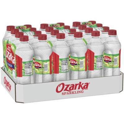 Ozarka Sparkling Natural Spring Water, Lime, 16.9 Fl Oz, 24 Count