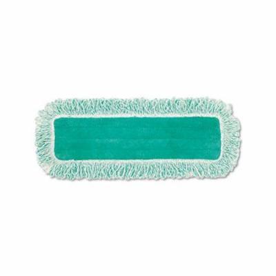 Dust Pad Wfringe, Microfiber, 18 Long, Green, 6carton