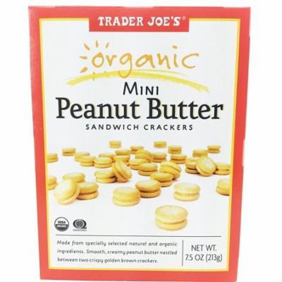Trader Joe's Organic Mini Peanut Butter Sandwich Crackers