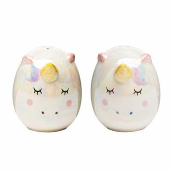 Unicorn Salt and Pepper Shakers, 3 oz