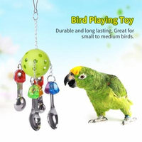 Parrot Bird Interactive Hanging Toy Cage Toys for Small & Medium Sized Birds