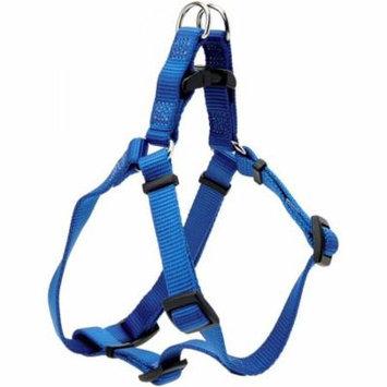 Tuff Collar Nylon Adjustable Comfort Harness - Blue Small (Girth Size 16