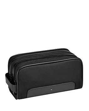 Montblanc Leather-Trimmed Toiletry Case
