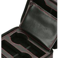 Adfa, Inc. Diplomat Watch Storage Case Leatherette Travel Pouch 4 Watch