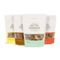 Oat My Goodness Premium Craft Granola, Variety Pack, 8 Ounce (Pack of 4)