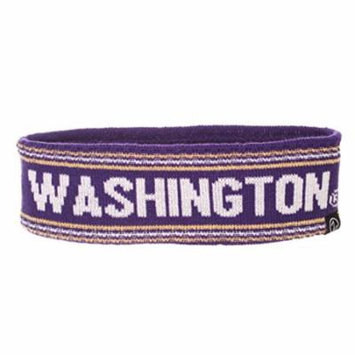 NCAA Washington Huskies Women's End Zone Headband, One Size, Team Color