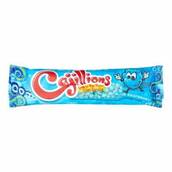 Cajillions Chewy Candy Blue Raspberry 1.9 oz 192ct Case