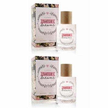 Sheer Dreams by SFL Perfume Spray, 1.7 oz   (2 pack)