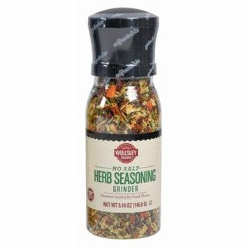 Wellsley Farms No Salt Herb Seasonings Grinder, 5.14 oz.