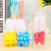 Mosunx 1 PC Kitchen Cleaning Tool Sponge Brush For Wineglass Bottle Coffe Tea Glass Cup