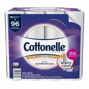 Cottonelle Ultra GentleCare 48 Double Rolls, Toilet Paper, Sensitive