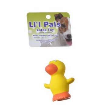 Lil Pals Latex Duck Dog Toy 2.75