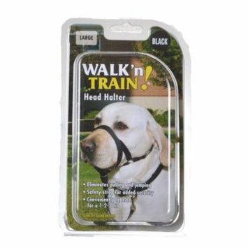 Coastal Pet Walk'n Train Head Halter Size 3 (15-20 Neck & 7-9 Snout Circumference) - Pack of 4