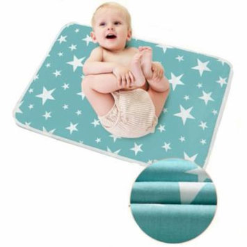 Bedding Changing Cover,Reusable Baby Cotton Urine Mat Diaper Nappy Bedding Changing Cover Pad(Dream stars)