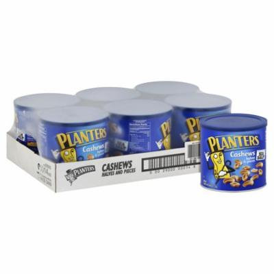 Planters Cashews, 46 oz Canister (Pack of 6)