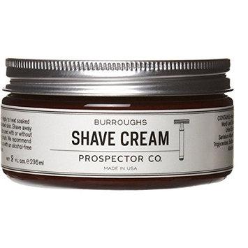 Prospector Co Burroughs Shave Cream, 8 ounce
