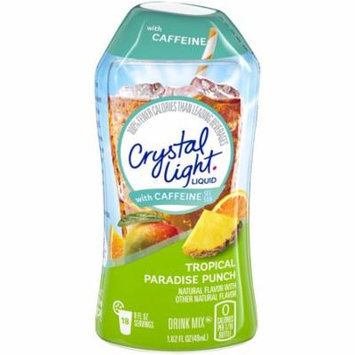 Crystal Light Liquid Tropical Paradise Punch Liquid Concentrate With Caffeine Bottle, 1.62 oz