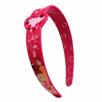 Disney Princess Butterflies and Flowers Hot Pink Girls Headband
