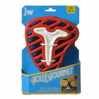JW Pet Holee Gourmet Steak Dog Toy Small - (7