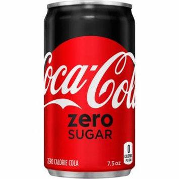 Coke Zero Sugar Mini Cans, 7.5 Fl Oz, 10 Count