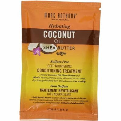3 Pack - Marc Anthony Hydrating Coconut Oil & Shea Butter Deep Nourishing Conditioning Treatment 1.69 oz