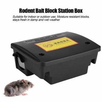 Rodent Bait Block Station Box Case Trap Rat Mouse Mice with Keys ,Rodent Bait Block Station Box